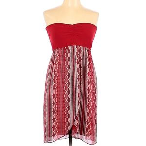 Judith March Strapless Casual Dress